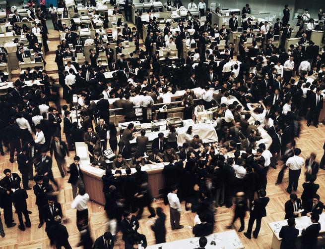 Andreas Gursky(German, b. 1955) 'Tokyo Stock Exchange' 1990