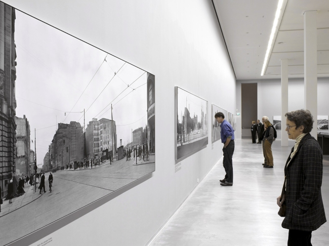 Installation view of the exhibition 'As far as the eye can see' at the Berlinische Galerie, Berlin