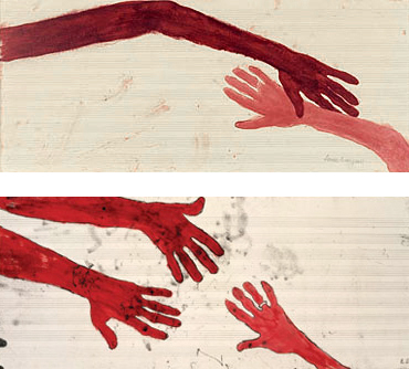 """Louise Bourgeois. """"TEN AM IS WHEN YOU COME TO ME"""" 2006"""