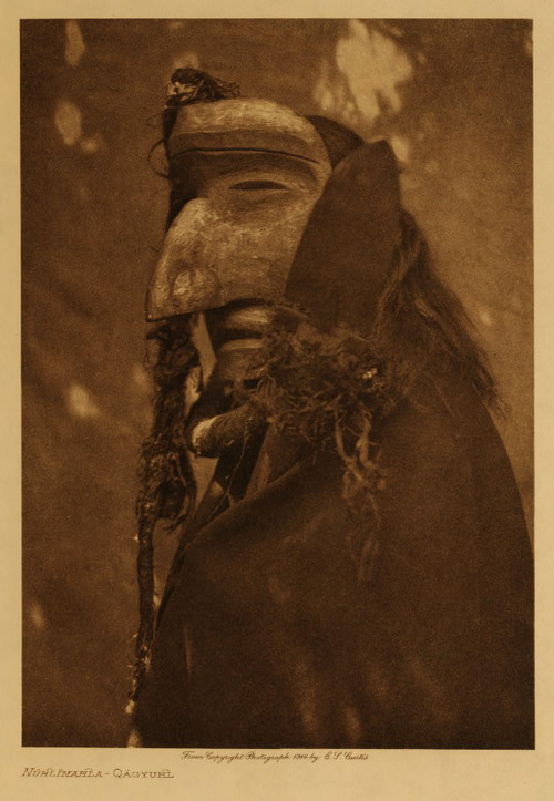 """Edward S Curtis. """"Nuhlihahla-Qagyuhl"""" nd"""