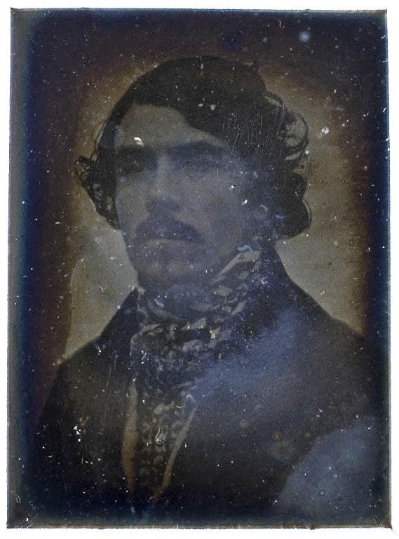 Léon Riesener (1808-1878) 'Portrait of Eugène Delacroix(1798-1863)' 1842