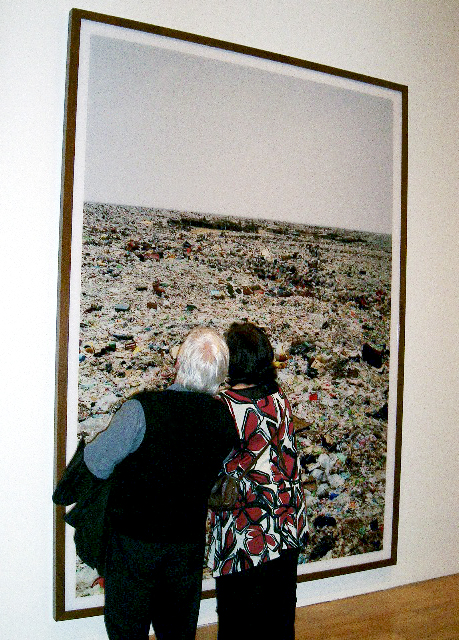 Opening night at Andreas Gursky exhibition at NGV International, Melbourne