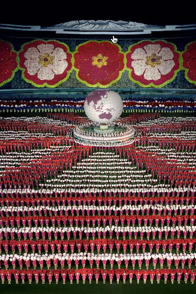 "Andreas Gursky. ""Pyongyang I"" 2007"
