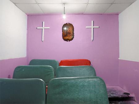 """Dave Jordano. """"Choir Box, New Hope in Christ Revival Center, Chicago 2008"""""""