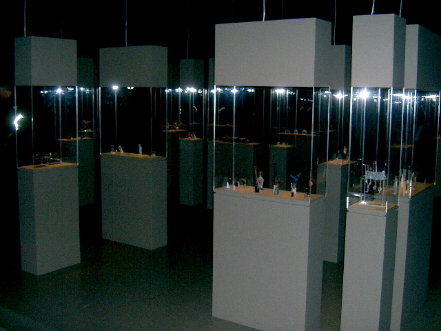 Robert Klippel 'Opus 2008' exhibition installation from the first space