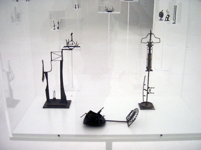 Opus 2008' exhibition sculpture from the second space