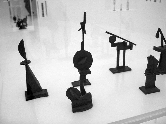 Robert Klippel 'Opus 2008' exhibition bronze sculptures from the second space
