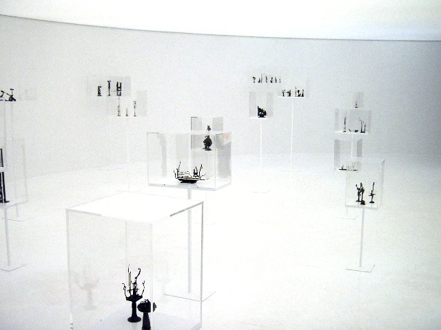 Opus 2008' exhibition installation view of the second space