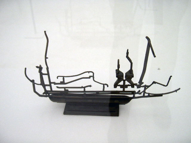 Opus 2008' exhibition bronze sculptures from the second space