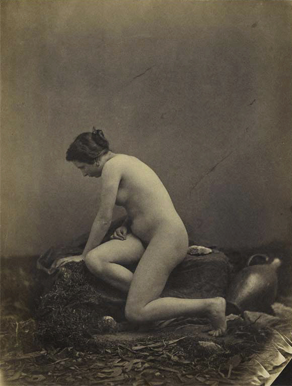 Louis Camille d'Olivier (1827-1870) 'Female nude' 1855