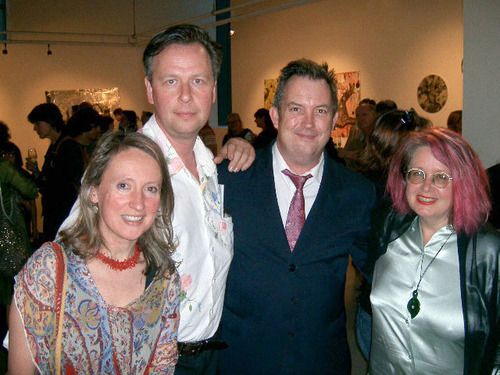 Artist Louise Rippert, sculptor William Eicholtz, architect Vaughn Barker and artist Heather Shimmen