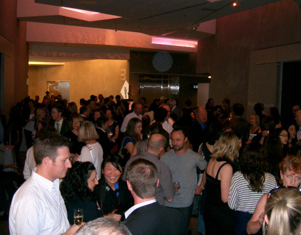 Opening of the exhibition 'No standing only dancing' by Rennie Ellis at The Ian Potter Centre: NGV Australia October 30th 2008