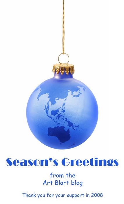 Season's Greetings from Art Blart