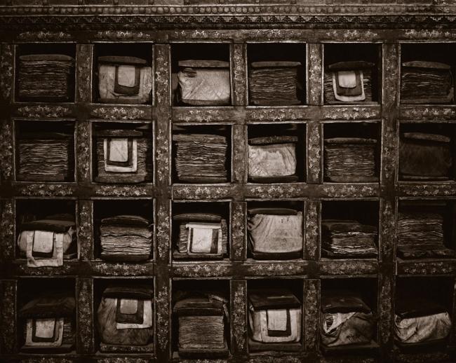Linda Connor (b. 1944) 'Library of Prayer Books, Ladakh, India' 1988