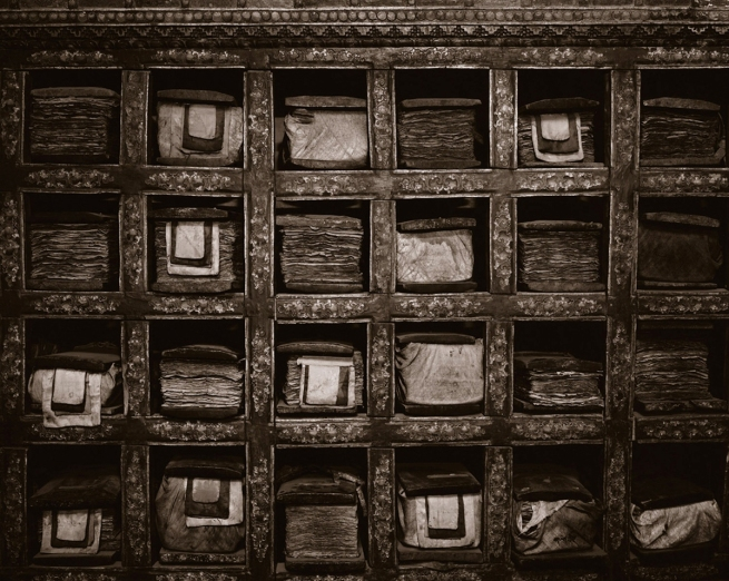 Linda Connor (b. 1944) 'Library of Prayer Books, Ladakh, India' 1988