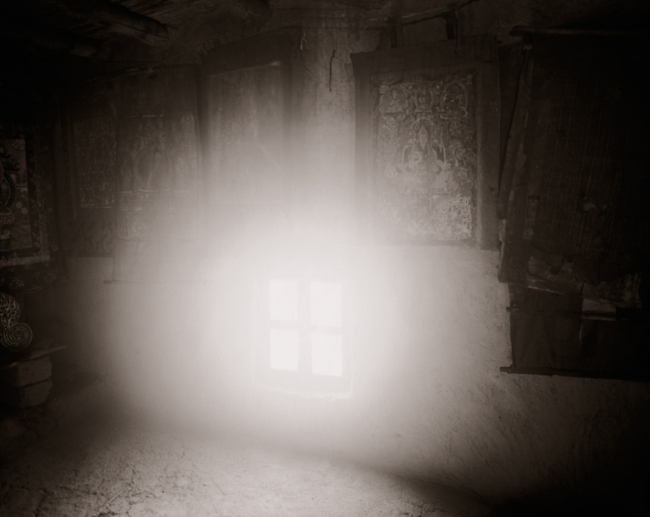 Linda Connor (b. 1944) 'Windows and Thangkas, Ladakh' 1988