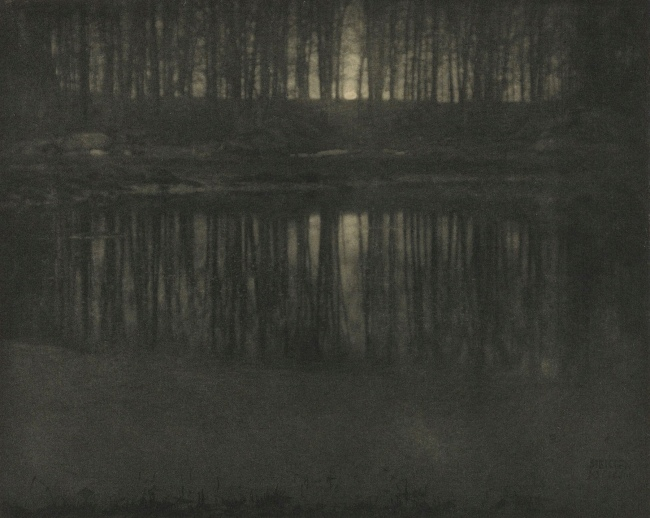 Edward Steichen(American, 1879-1973) 'The Pond - Moonlight' Negative 1904; print 1906