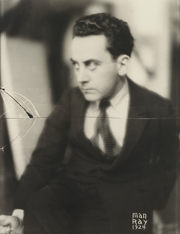 Man Ray. 'Self-portrait' 1924