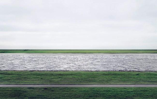 Andreas Gursky(German, b. 1955) 'Rhein II' 1996