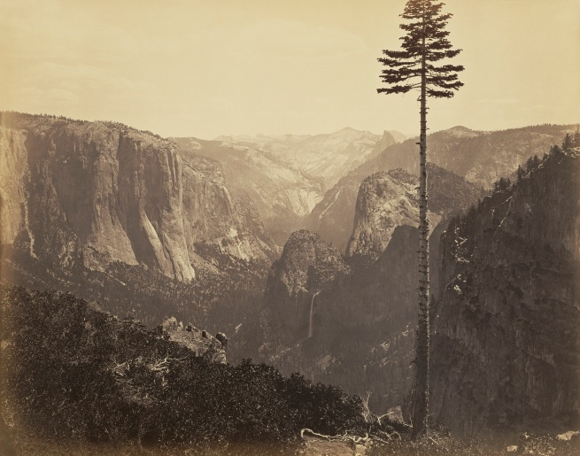 Carleton Watkins. 'Yosemite Valley from the Best General View No.2.' 1866
