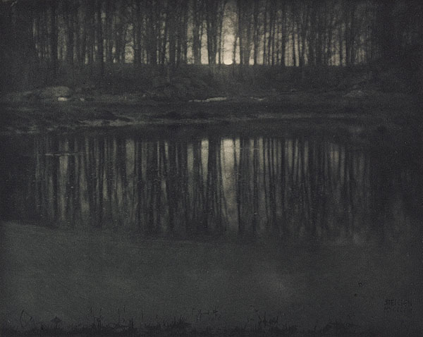 Edward Steichen. 'Moonlight The Pond' 1906