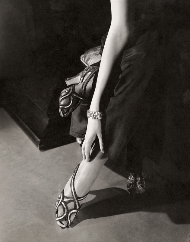 Edward Steichen (1879-1973) 'Princess Nathalie Paley wearing sandals by Shoecraft' 1934