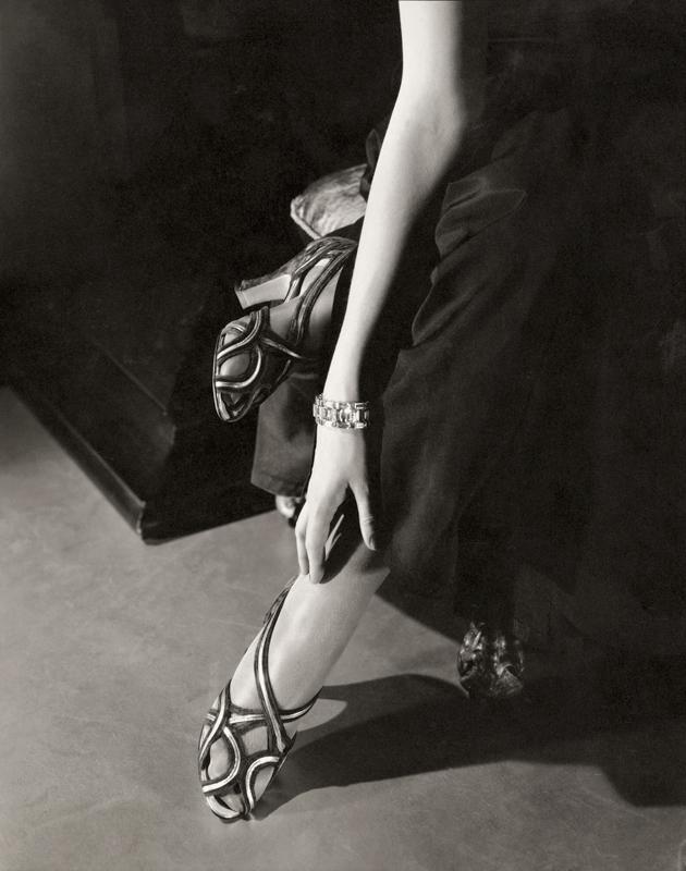 Edward Steichen(1879-1973) 'Princess Nathalie Paley wearing sandals by Shoecraft' 1934