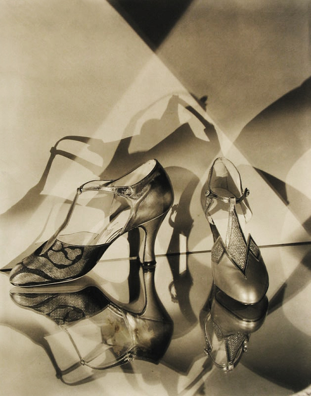 Edward Steichen (1879-1973) 'Evening shoes by Vida Moore' 1927