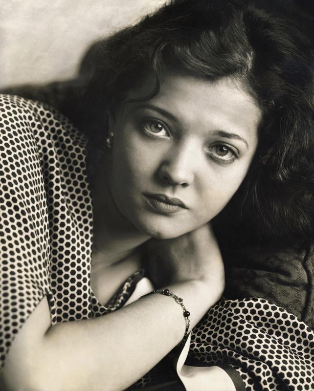 Edward Steichen(1879-1973) 'Sylvia Sidney' 1929