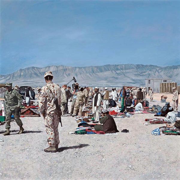 "market, Tarin Kowt, Uruzgan province, Afghanistan."" 2007"