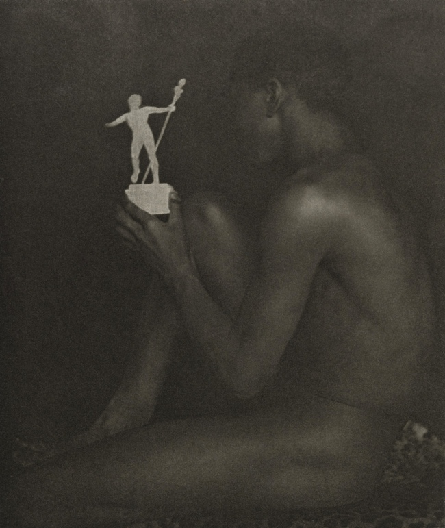 F. Holland Day. 'Ebony and Ivory' 1899