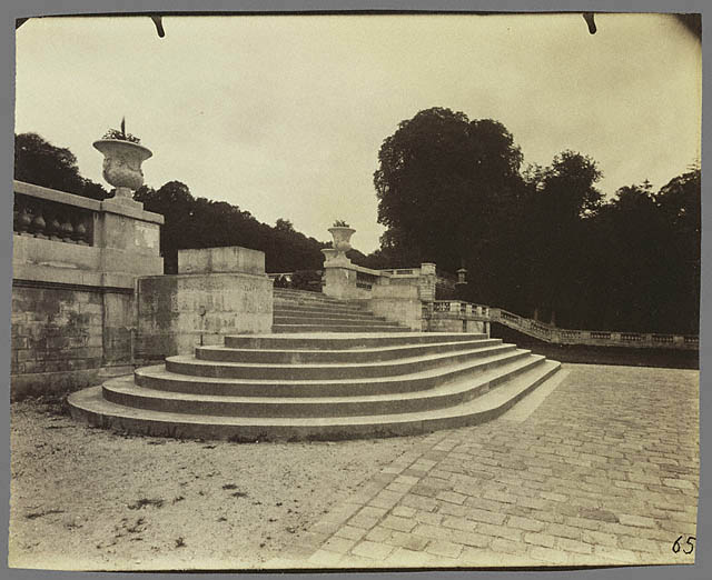 "Eugene Atget. ""Saint Cloud"" 1904"