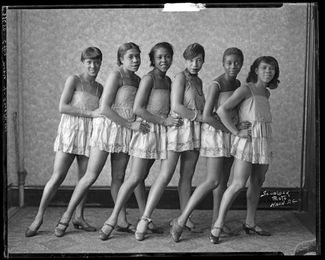 Addison Scurlock(American, 1883-1964) 'Effie Moore Dancers' c. 1920s