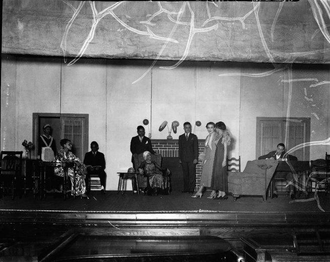 "Addison Scurlock. ""Howard University Players"" c.1933"