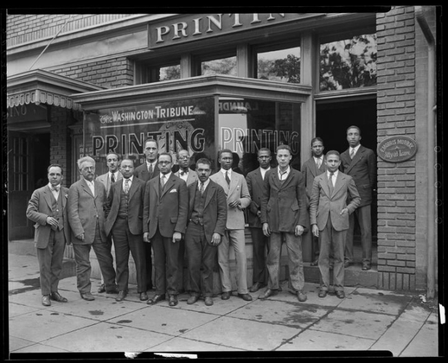 Addison Scurlock(American, 1883-1964) 'Murray Brothers Printing Company' 1925