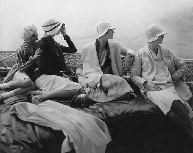 Edward Steichen. Conde Nast photograph. 1928