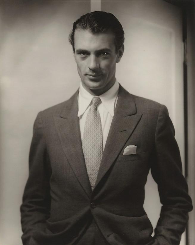 Edward Steichen. 'Gary Cooper' 1930
