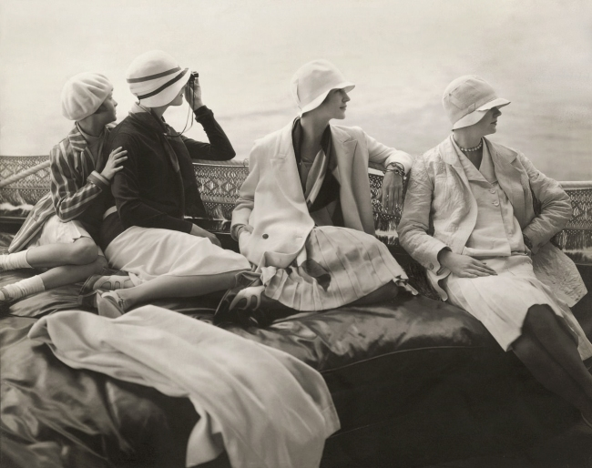 Edward Steichen (1879-1973) 'On George Baher's yacht' 1928