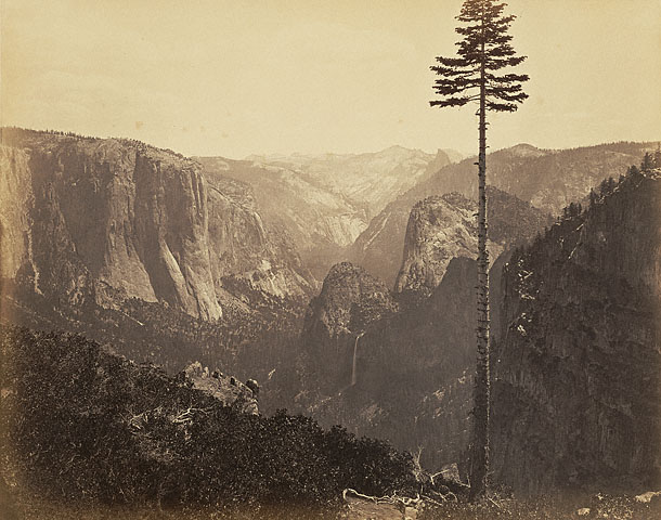 "Carleton Watkins. ""Yosemite Valley from the Best General View"" No.2. 1866"