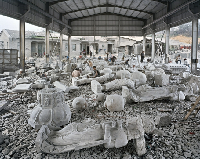 Edward Burtnysky. 'China Quarries #8, Xiamen, Fujian Province, 2004'