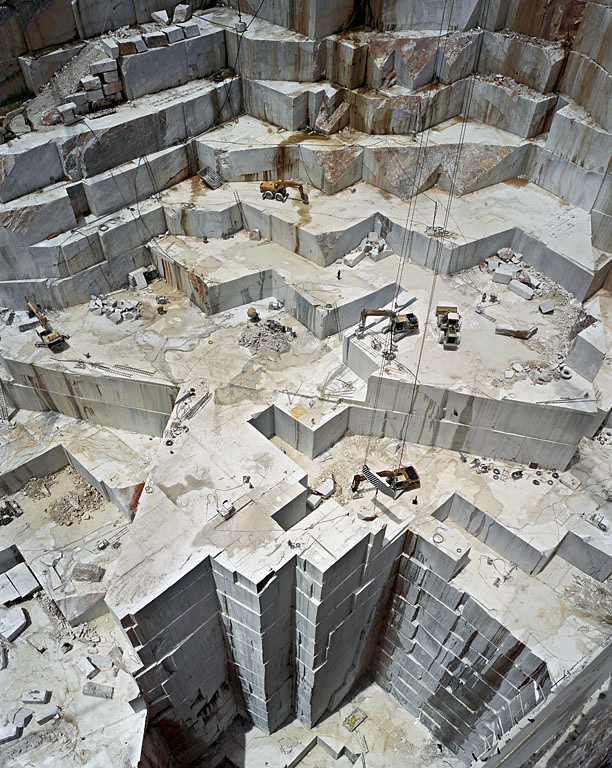 Edward Burtnysky. 'Iberia Quarries #3, Bencatel, Portugal, 2006'