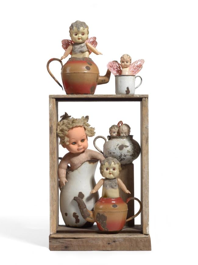 Rosalie Gascoigne(1917-1999) 'The tea party' 1980