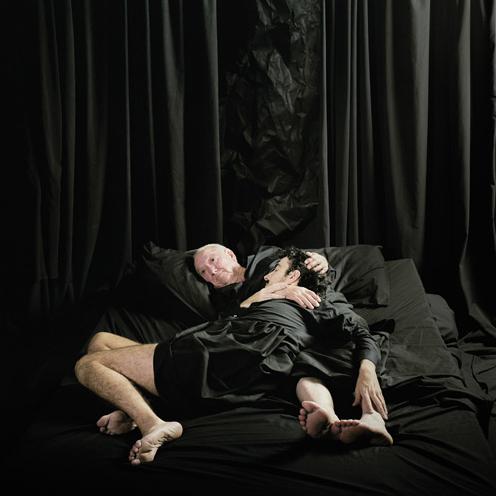 Eduardo Sourrouille.' Double self-portrait' 2008