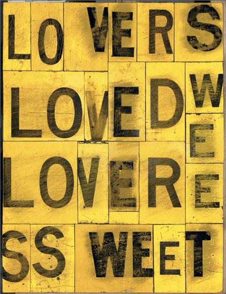 Rosalie Gascoigne. 'Sweet lovers' 1990