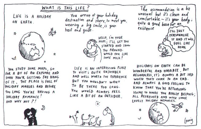 Michael Leunig. 'What is This Life?'
