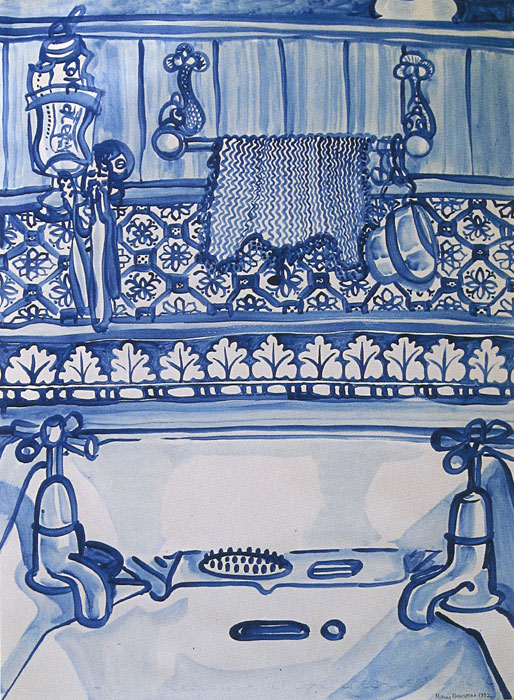 Mary Newsome. 'Bathroom Sink' 1992