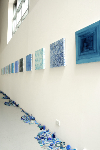 Mary Newsome. 'Bowerhouse Blues' installation photograph 2009