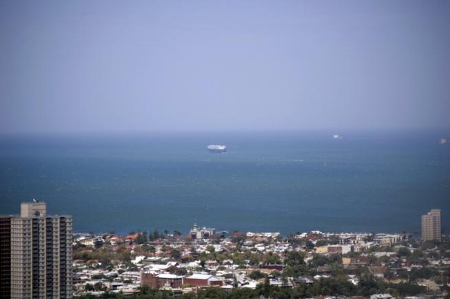 Marcus Bunyan. 'On Port Phillip Bay' 2009