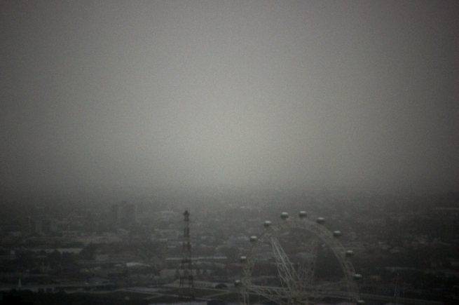 Marcus Bunyan. 'Looking across the city' 2009