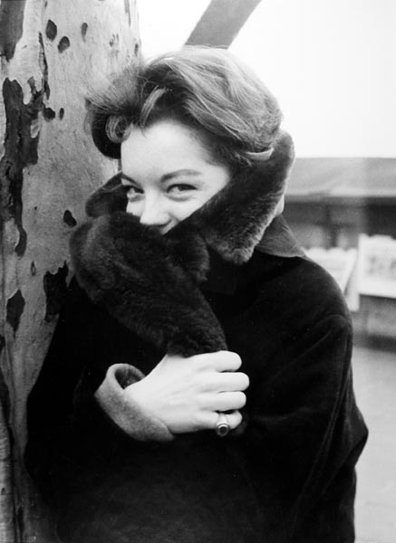 Roger Fritz. 'Romy Schneider, Paris, 1961'